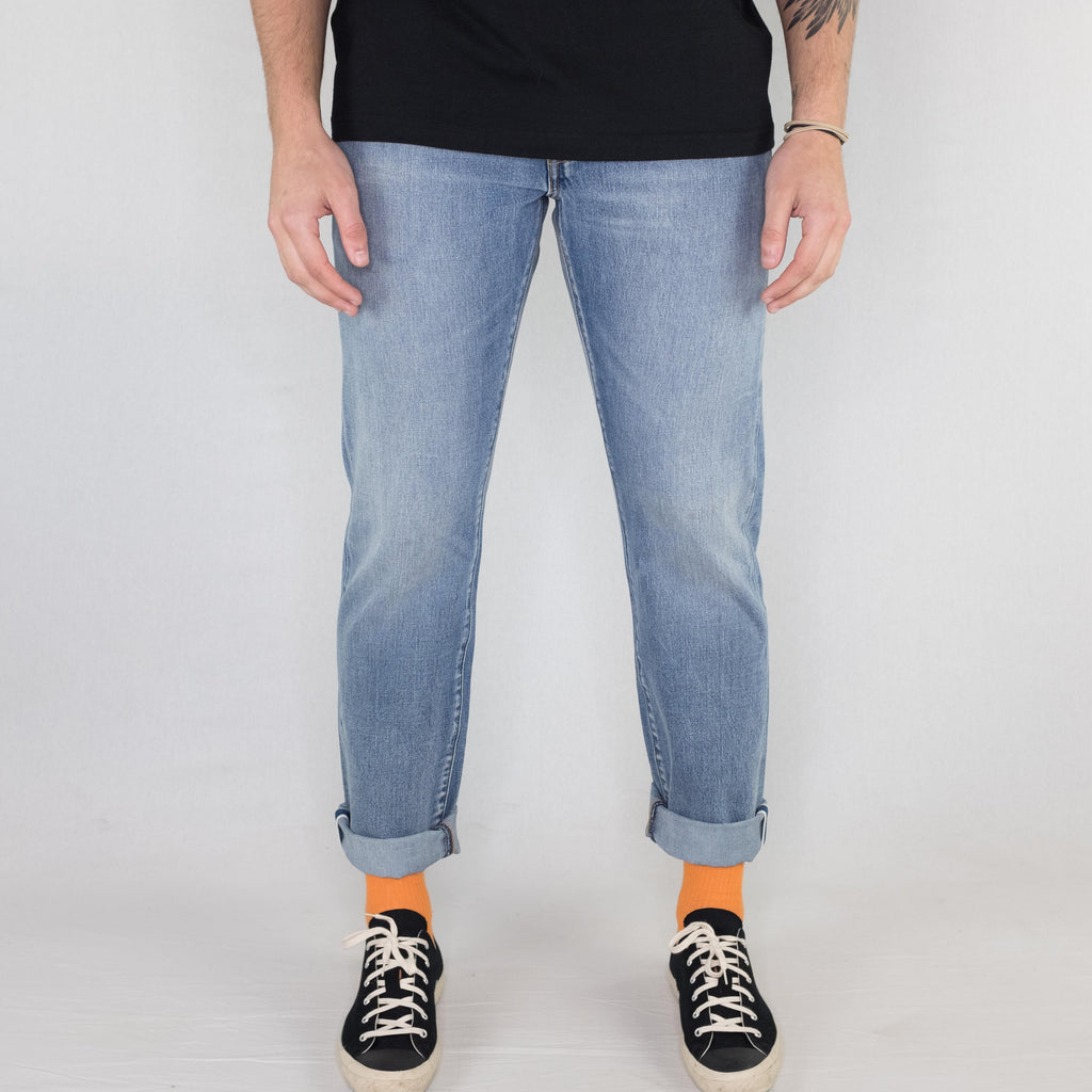 Levi's - 511 Slim Selvedge Denim Light Wash - Foundry Mens Goods