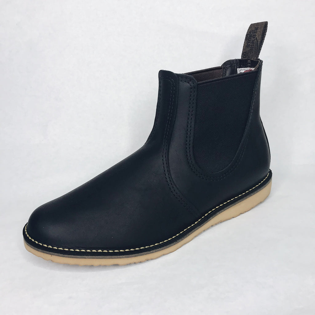 Red Wing Heritage - 3310 Weekender Chelsea Boot Black Harness - Foundry Mens Goods