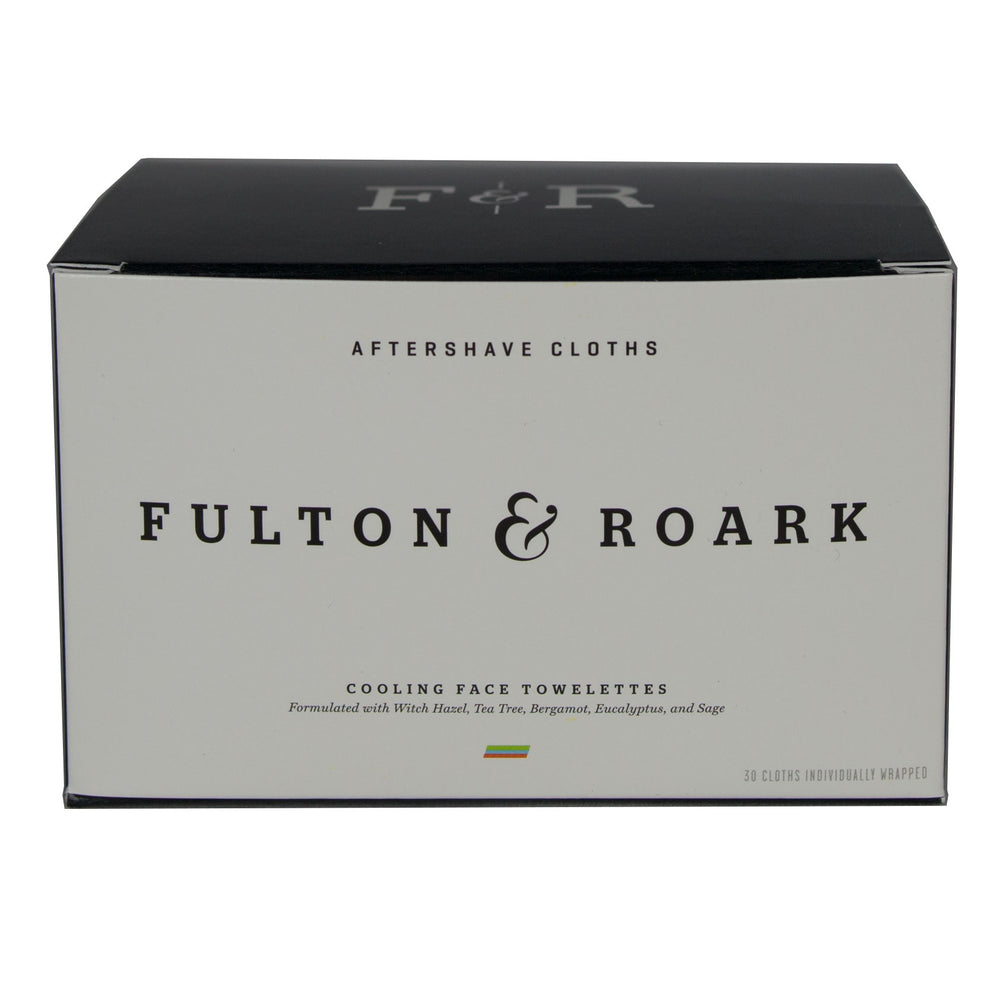 Fulton & Roark - After Shave Cloths - Foundry Mens Goods