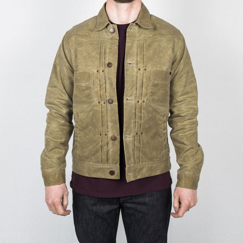 Freenote Cloth - Riders Waxed Canvas Jacket - Foundry Mens Goods