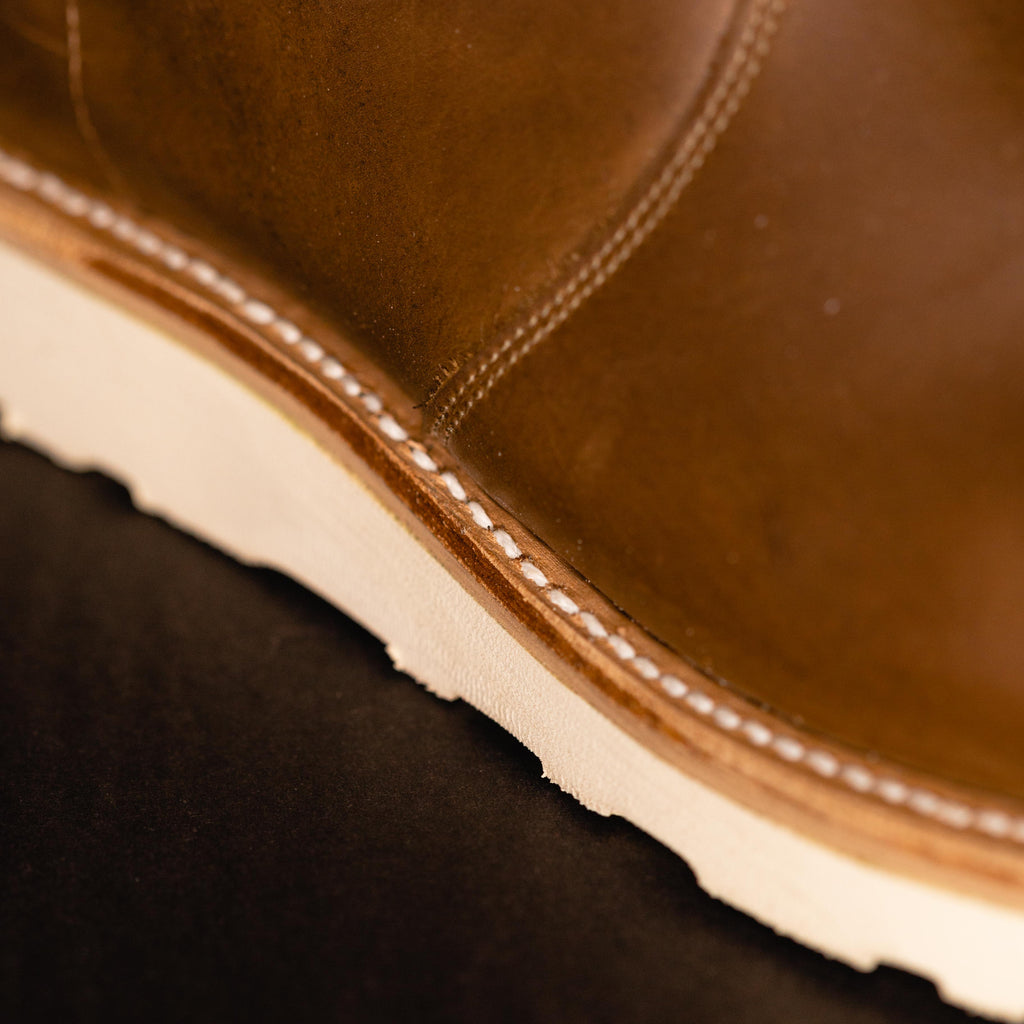 Mark Albert Boots X Foundry - Cavalier Roper Camel Crazy Horse - Foundry Mens Goods