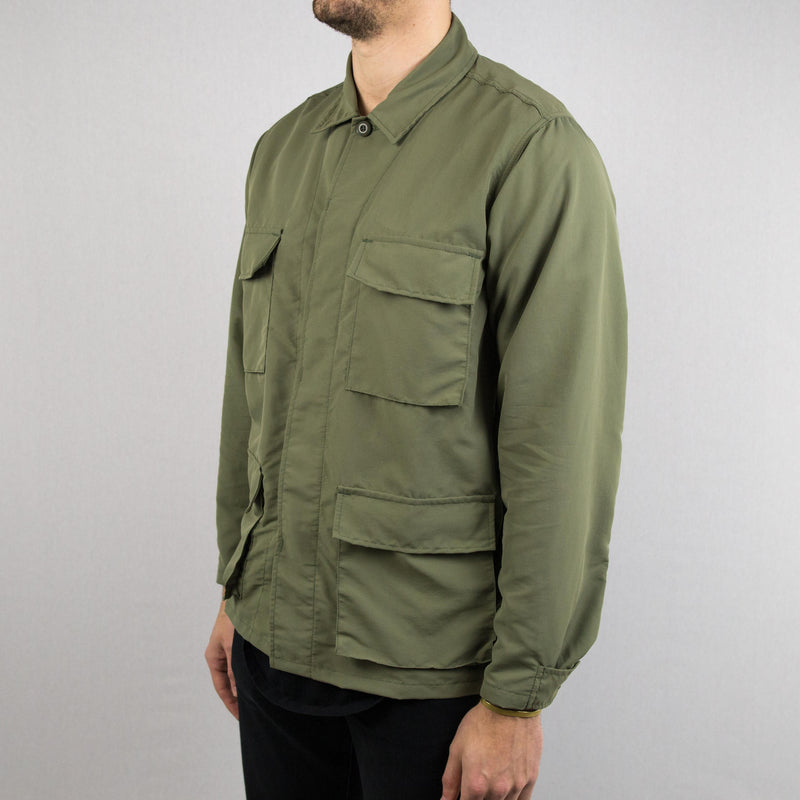 Corridor NYC - Peached Nylon M41 Jacket Olive - Foundry Mens Goods