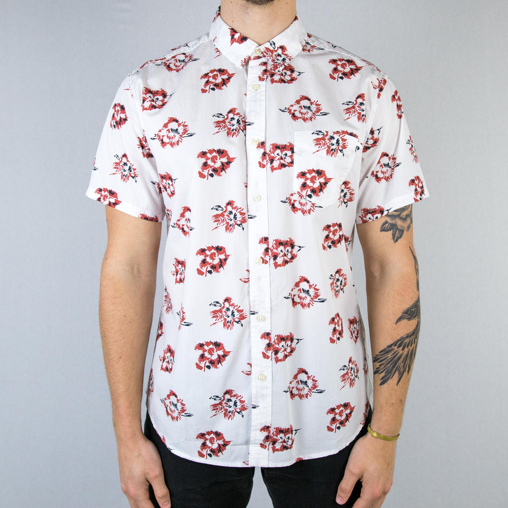 Life After Denim - Rosarito Short Sleeve Shirt White - Foundry Mens Goods