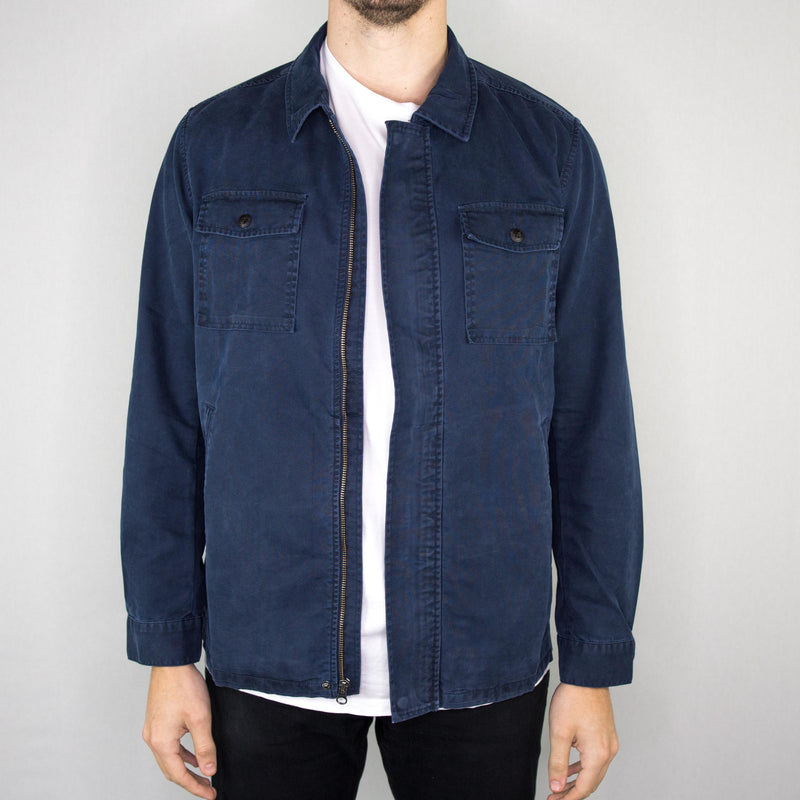 Grayers - Boon 4 Pocket Utility Jacket Navy - Foundry Mens Goods