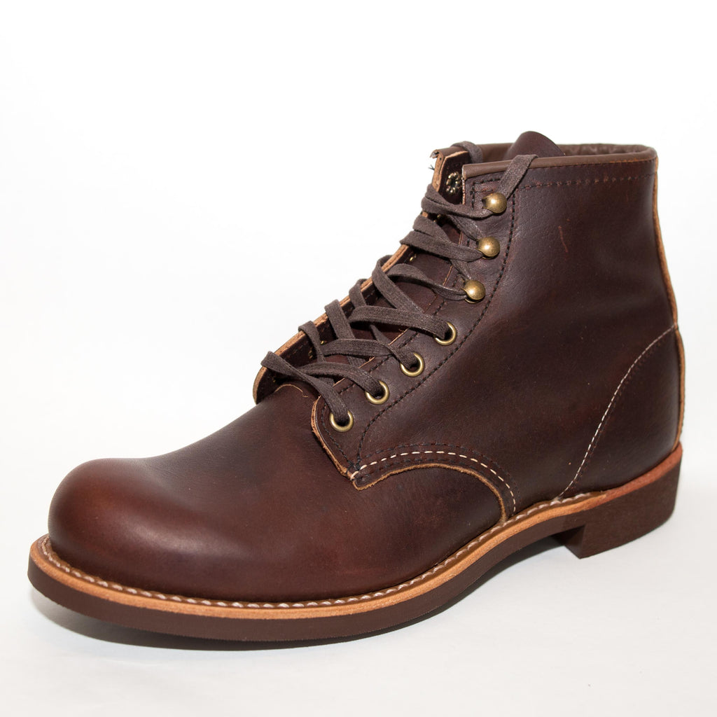 "Red Wing Heritage - 3340 Blacksmith 6"" Boot Briar Oil Slick - Foundry Mens Goods"