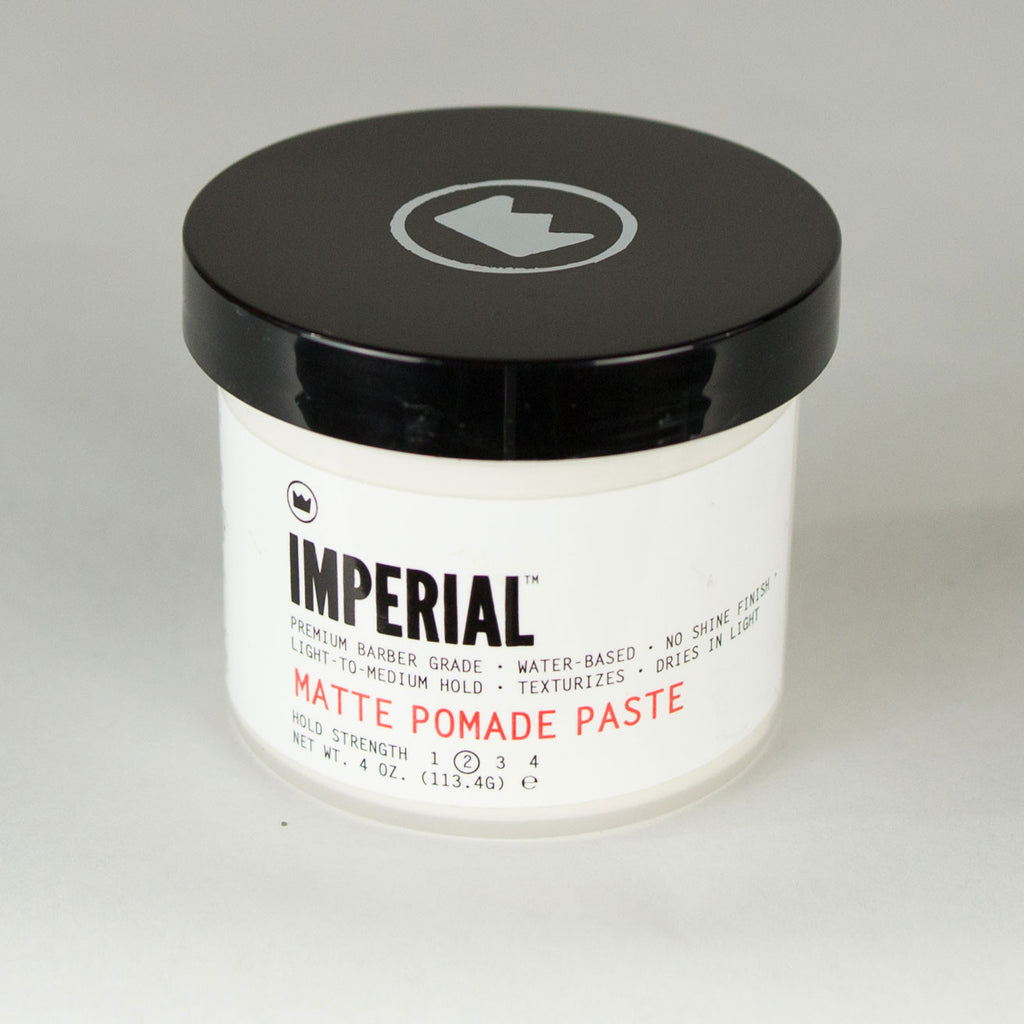 Imperial Barber Grade Products - Matte Pomade Paste - Foundry Mens Goods