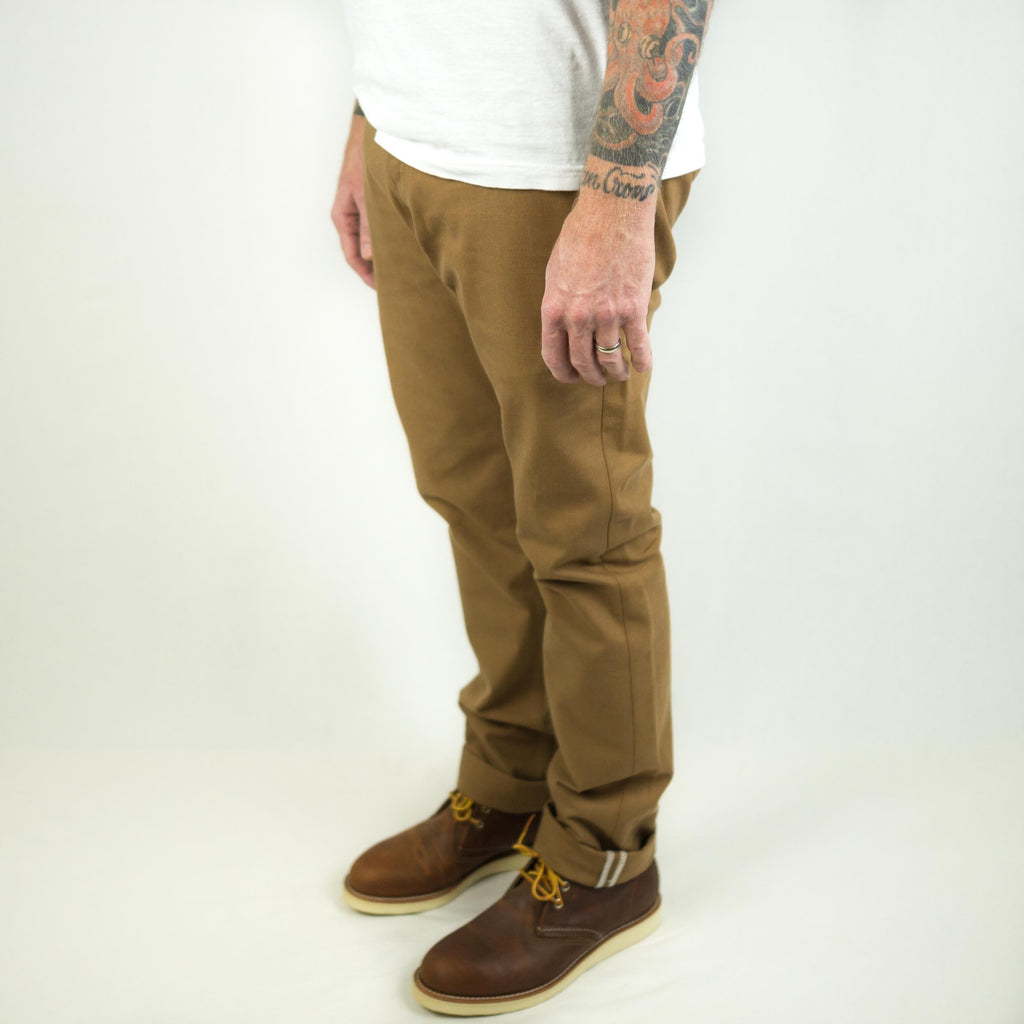 Rogue Territory Officer Trouser Copper Canvas - Foundry Mens Goods