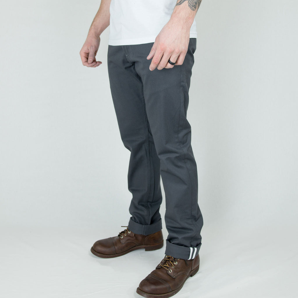 Rogue Territory Officer Trouser Grey - Foundry Mens Goods