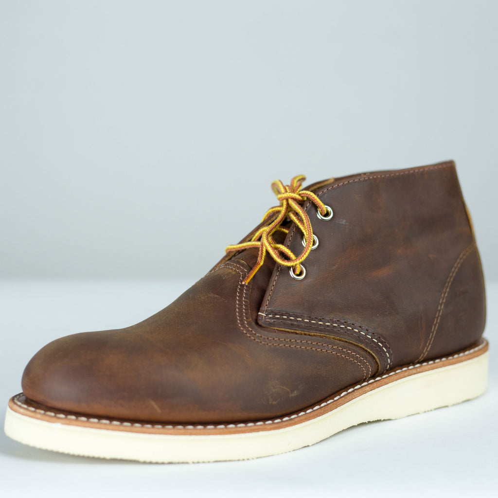 Red Wing Heritage - 3137 Classic Chukka Boot Copper Rough & Tough - Foundry Mens Goods