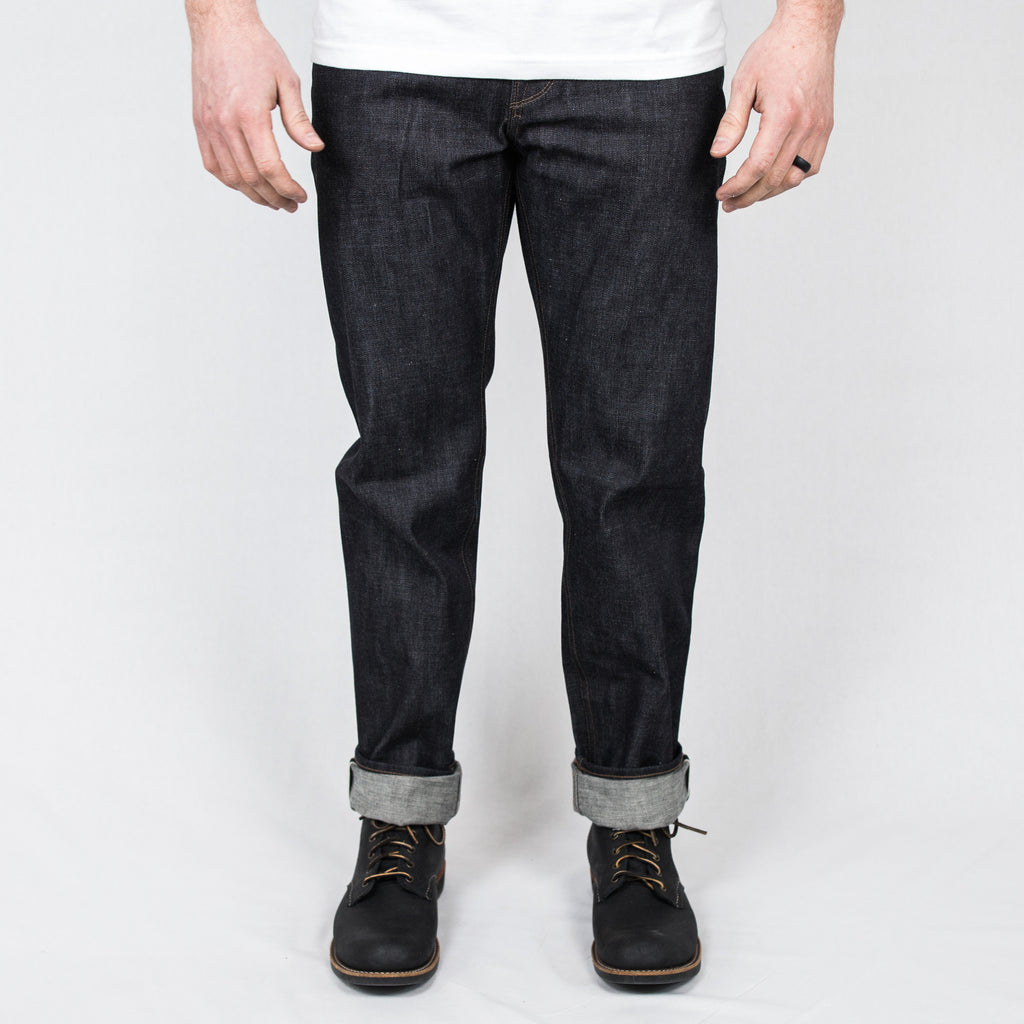 Freenote Cloth - Portola Taper Raw 13 oz Broken Twill Japanese Denim - Foundry Mens Goods