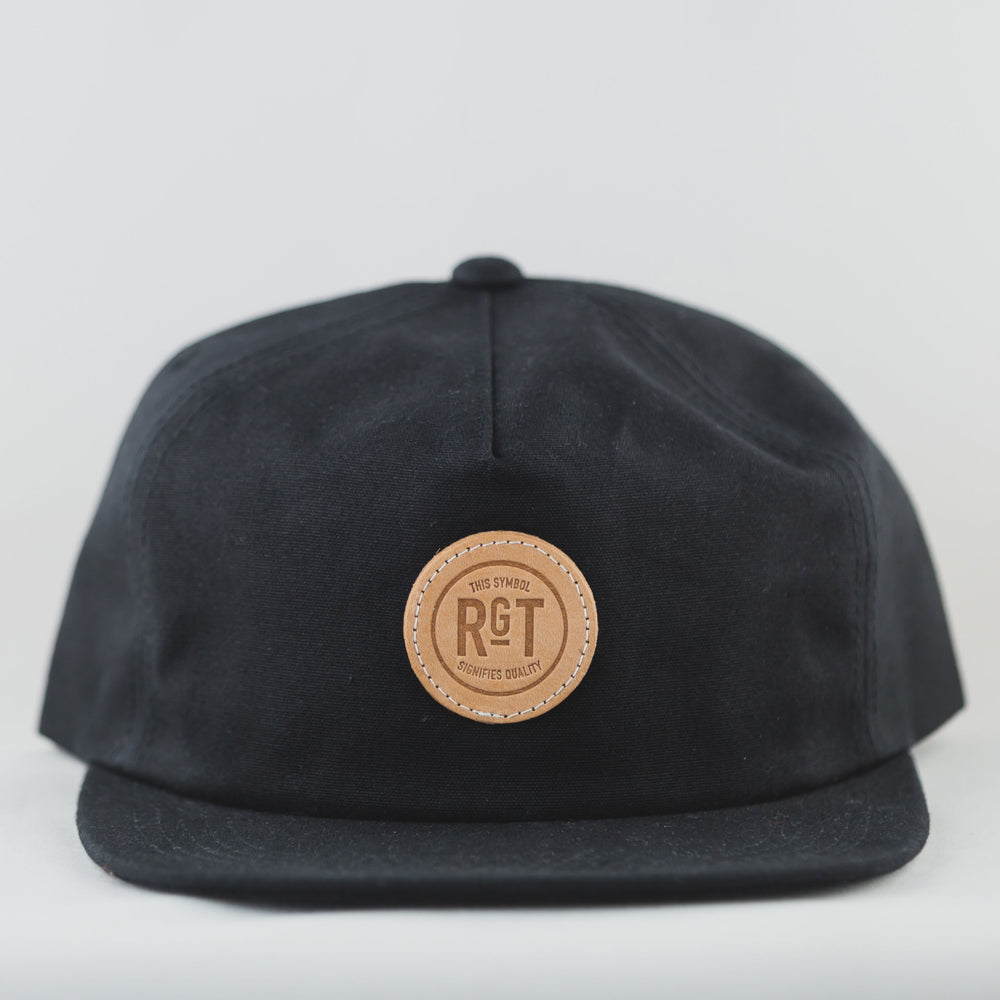 Rogue Territory 5 Panel Snapback Black - Foundry Mens Goods
