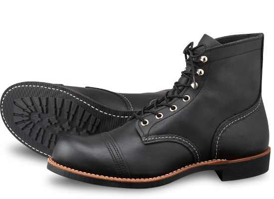 "Red Wing Heritage - 8084 Iron Ranger 6"" Boot Black Harness Leather"