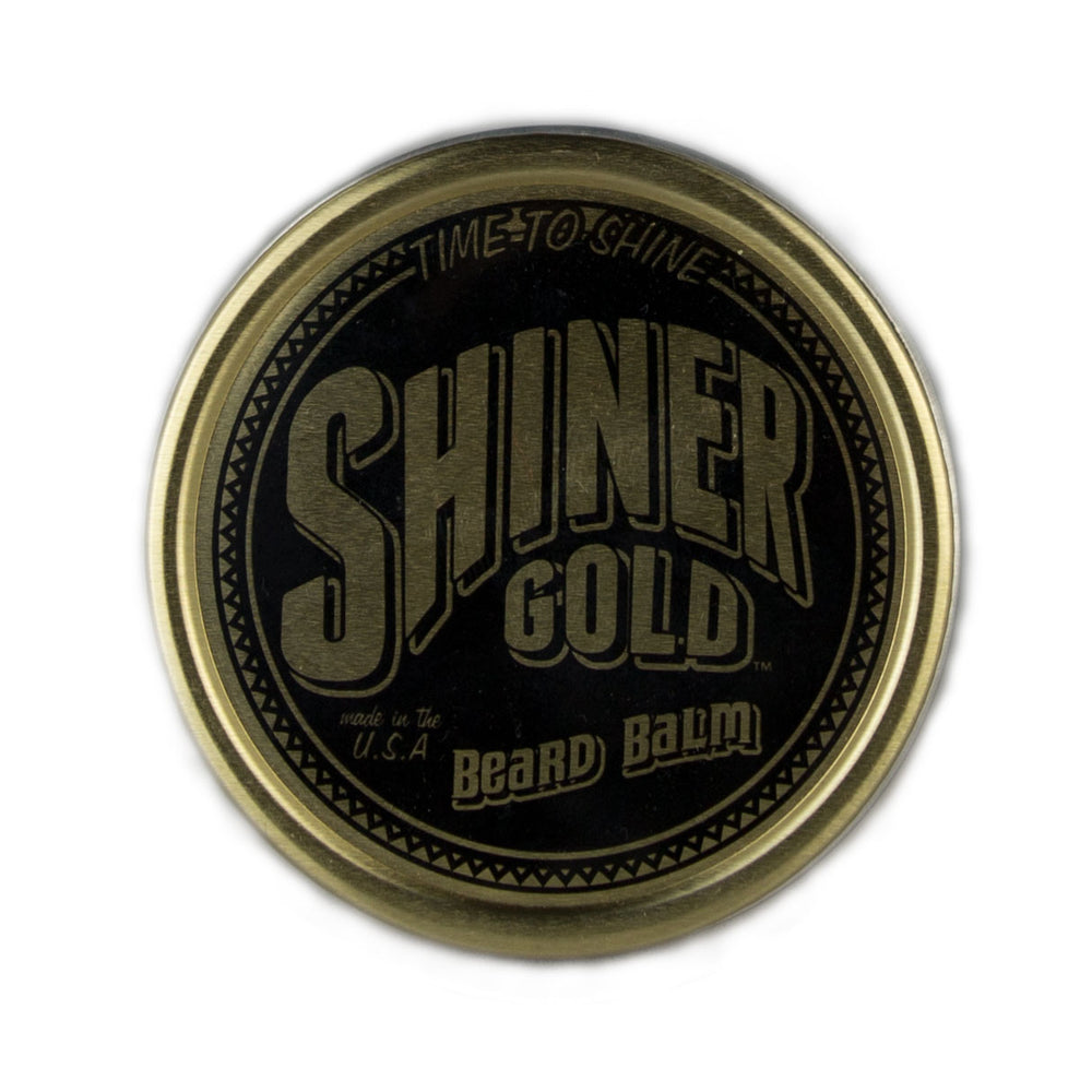Shiner Gold Beard Balm - Foundry Mens Goods