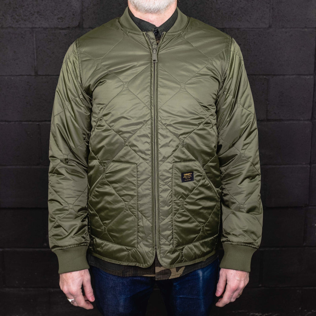 Carhartt WIP - Newton Bomber Liner Rover Green - Foundry Mens Goods