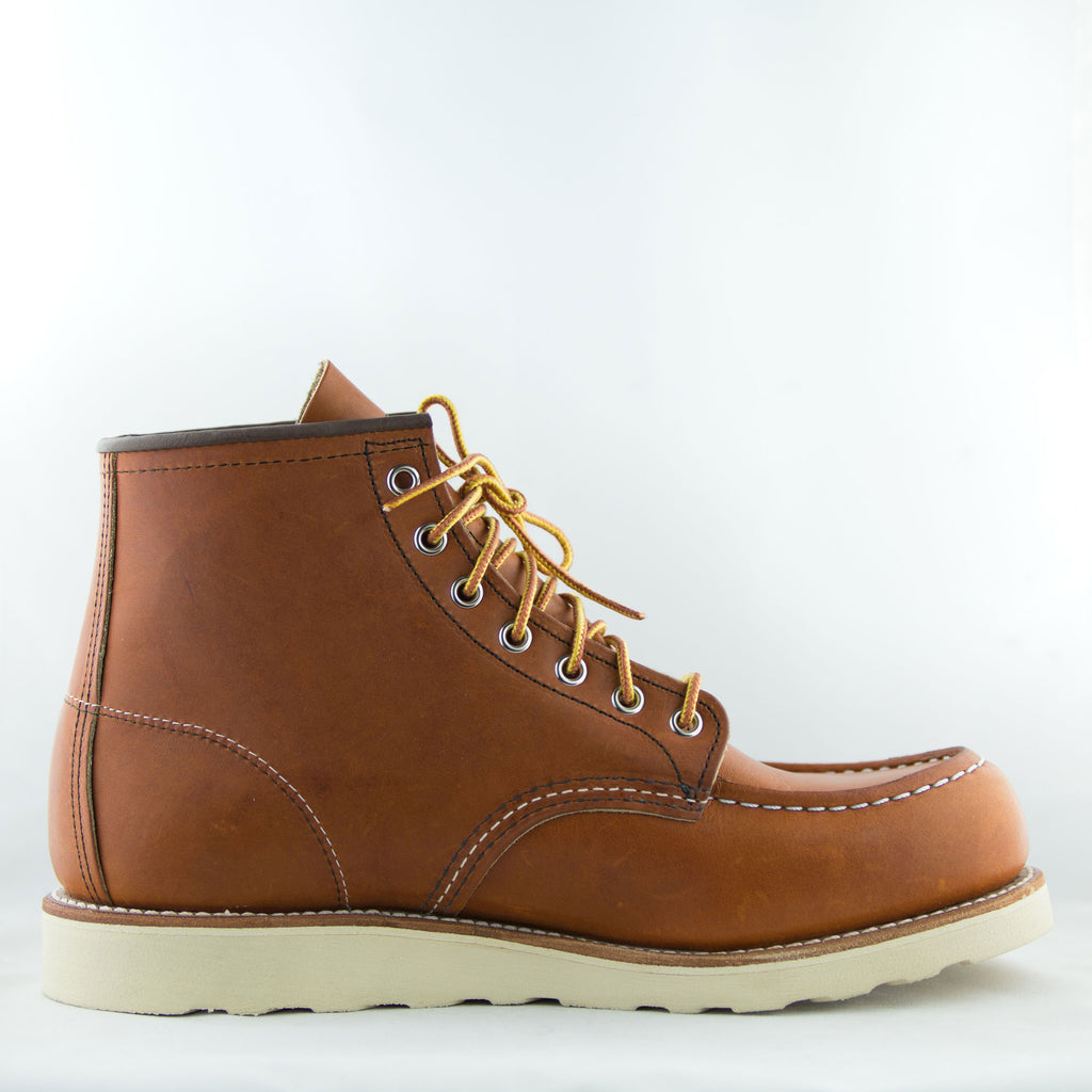 "Red Wing Heritage - 875 Classic Moc Toe 6"" Boot Oro Legacy - Foundry Mens Goods"