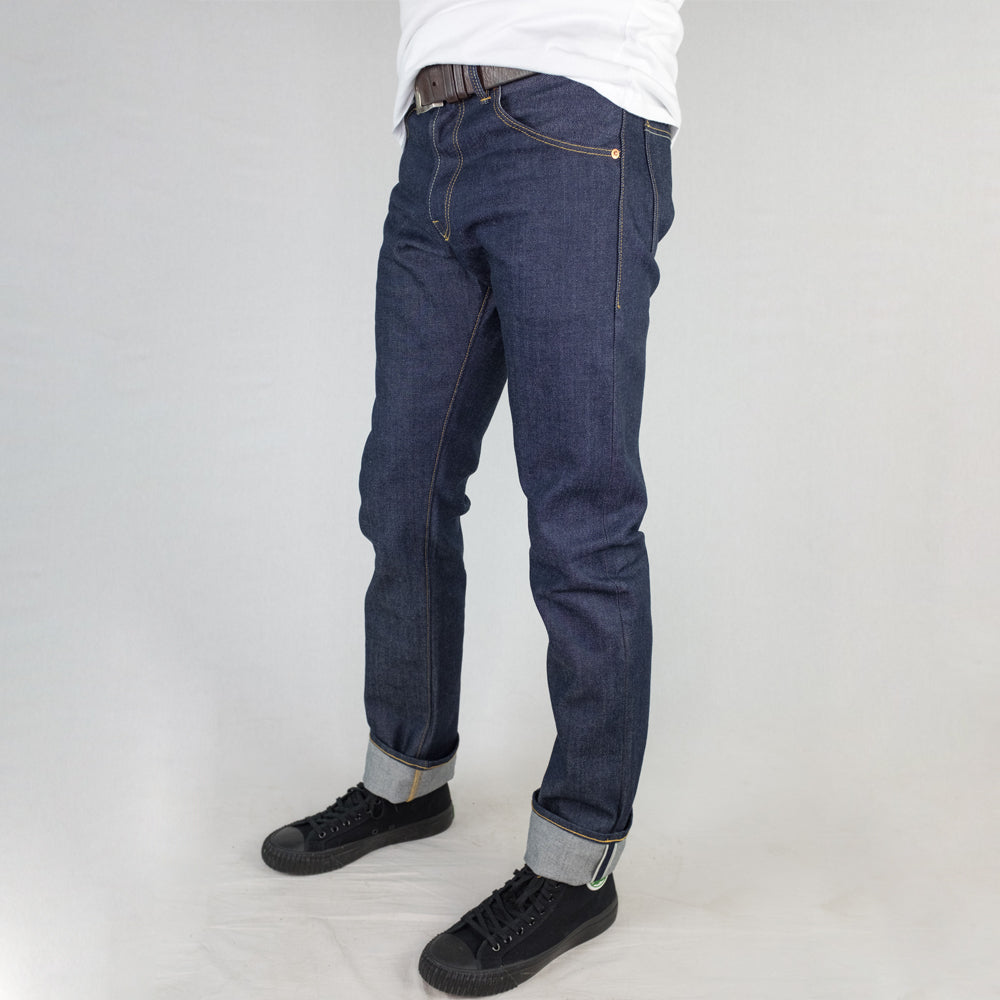 Chet Denim - 101 'Straight' 14oz. Kuroki Japanese Raw Selvedge Denim - Foundry Mens Goods