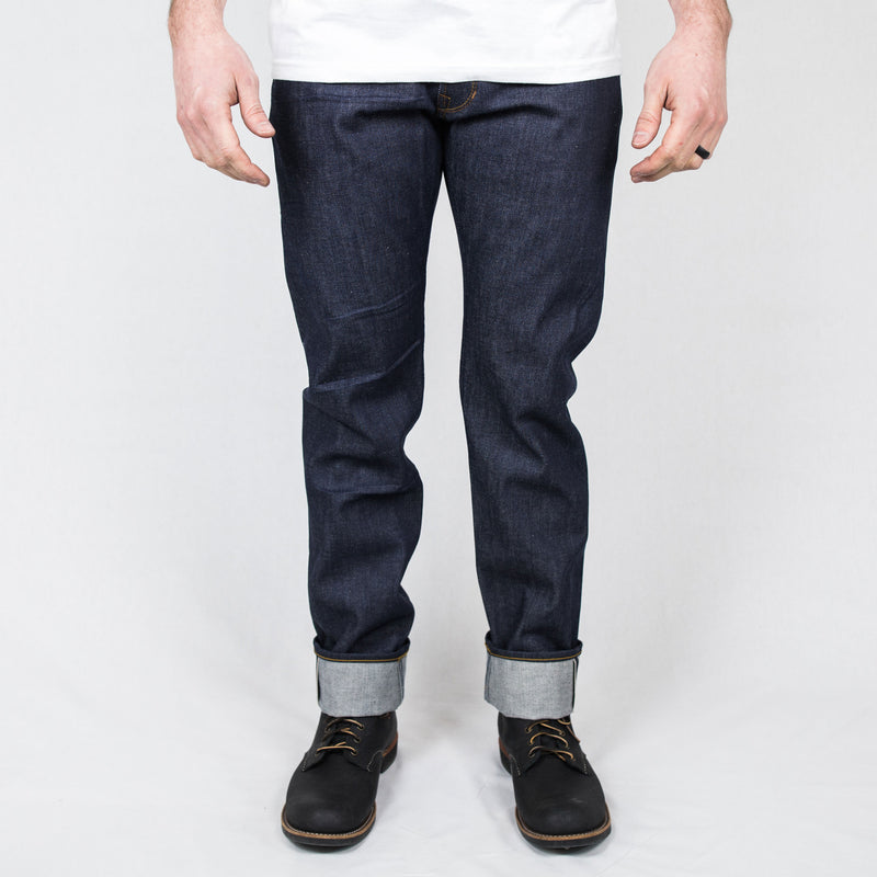 Railcar - Spikes X001 Straight Slim 13.5oz Selvedge Denim - Foundry Mens Goods