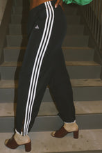 3 STRIPE NAVY TRACK PANTS