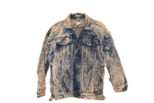 POWER SHOULDER DENIM JACKET