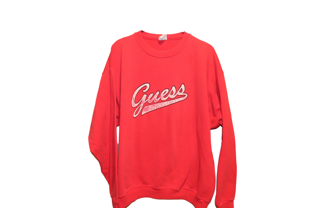 FADED RED SWEATSHIRT