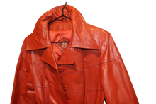 CINNAMON LEATHER JACKET