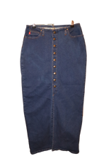 MAXI JEAN SKIRT (STRETCH)
