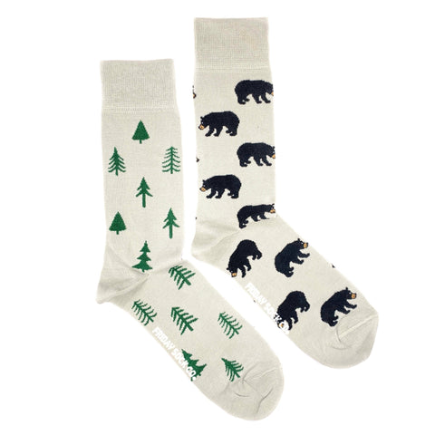 Friday Sock Co. - Bear and Trees