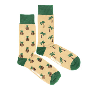 Friday Sock Co. - Palm Tree & Pineapple