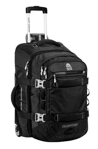 GRANITE GEAR CROSS TREK WHEELED CARRY-ON UPRIGHT W/ REMOVABLE 28 LITER PACK