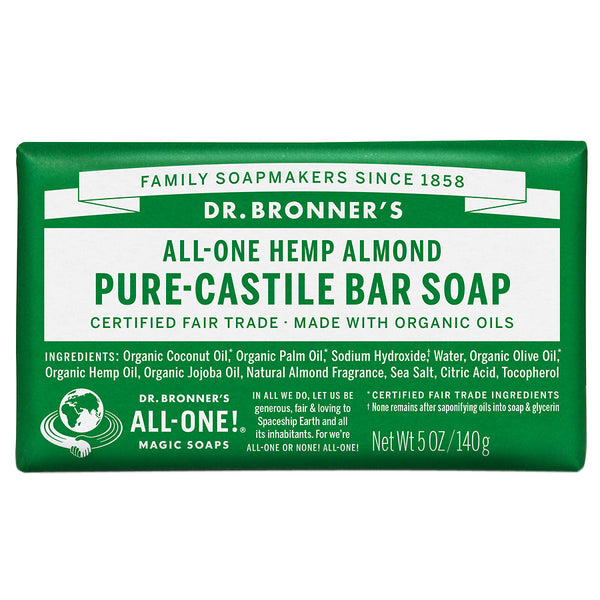 Dr Bronner's Pure Castile Bar Soap