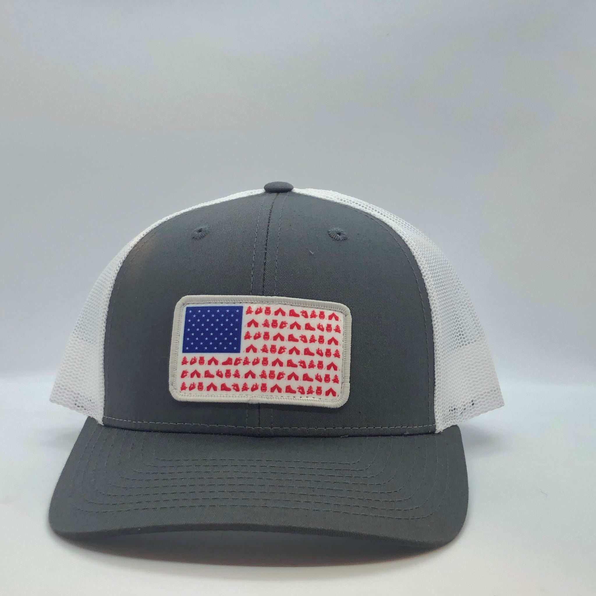 RBO American Flag Camp Trucker Hat