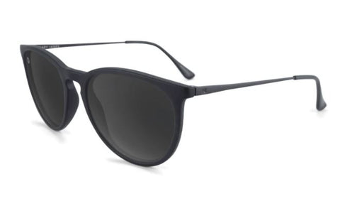 Knockaround Mary Janes Polarized Matte Black on Black/Smoke