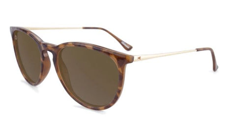 Knockaround Mary Janes Polarized Glossy Blonde Tortoise/Amber