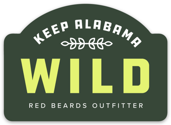 Keep Alabama Wild Sticker