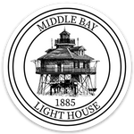 Middle Bay Lighthouse Sticker
