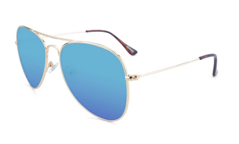 Knockaround Mile Highs Polarized Gold/Yellow Aqua