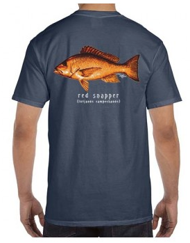 Phins Apparel Red Snapper Tee