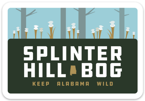 Splinter Hill Bog Sticker