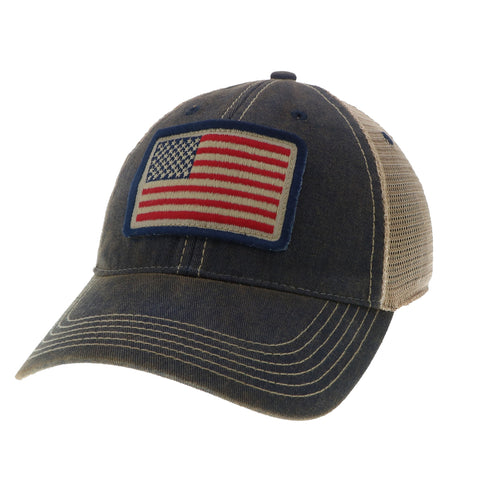 RBO USA Flag Trucker Hat