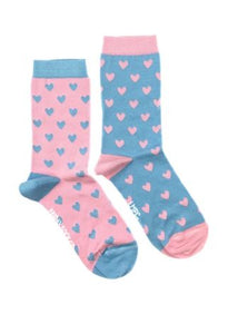 Friday Sock Co. Hearts Inverted Women's Sock