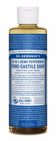 Dr Bronner's Liquid Soap - Peppermint