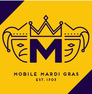 Mobtown Merch Official Mardi Gras Flag