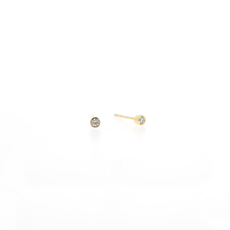 Audrey Diamond Stud Earrings