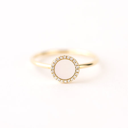Bella Mother of Pearl Ring