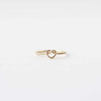 Brianna Diamond Knot Ring