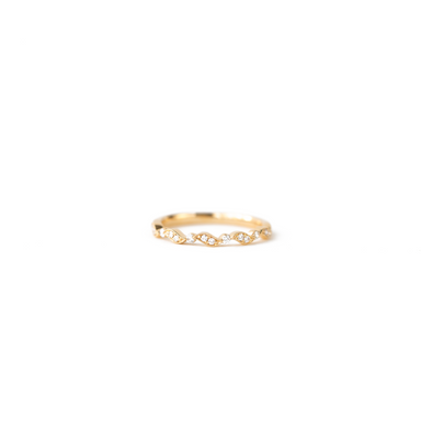 Kylie Diamond Band Ring