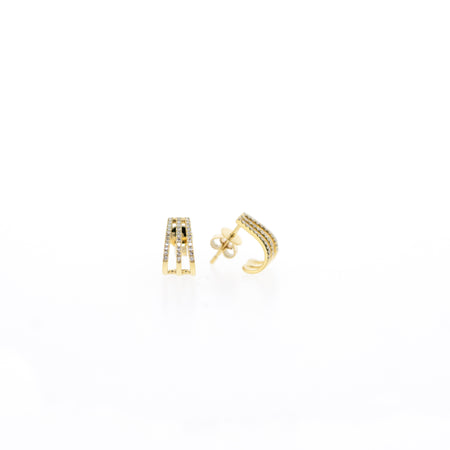 Leah Diamond Earrings