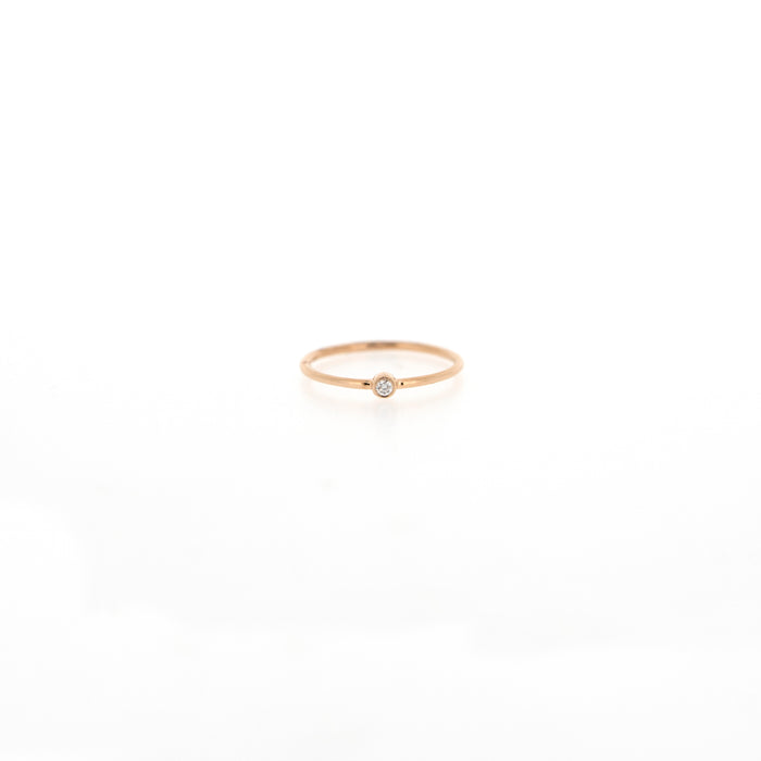 Riley Bezel Diamond Ring