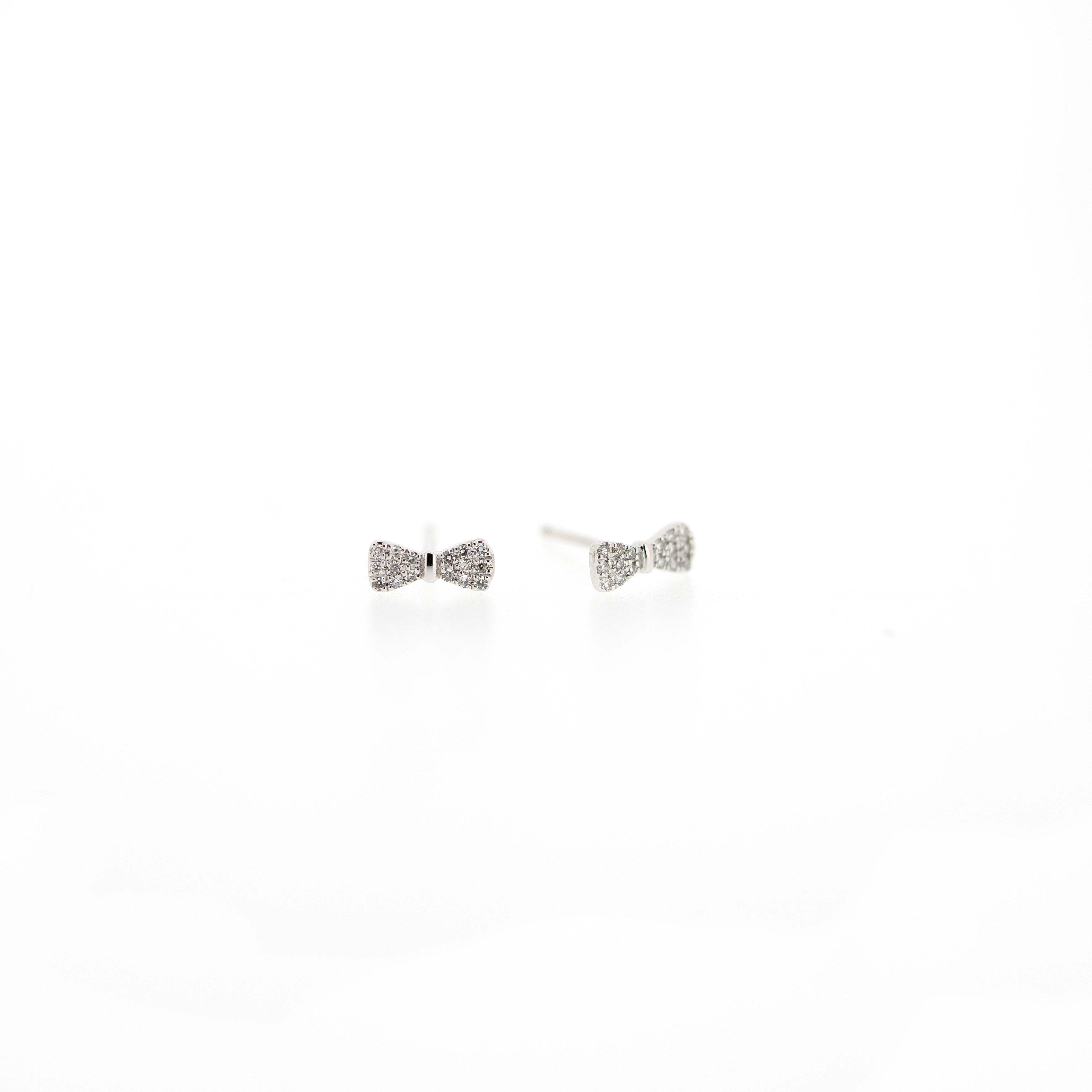 Samantha Bow Tie Earrings