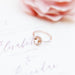 Victoria Morganite and Diamond Ring